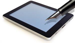 mobile-writing