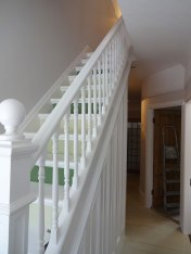 Netheredge Hallway & Stairs after paint 1