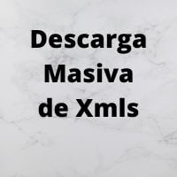 Descarga masiva de xmls