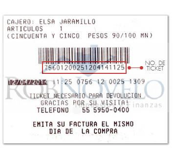 Facturacion ticket costco