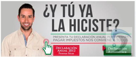 declaracion anual 2012
