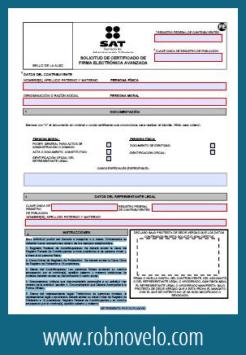 formato de solicitud de firma electronica