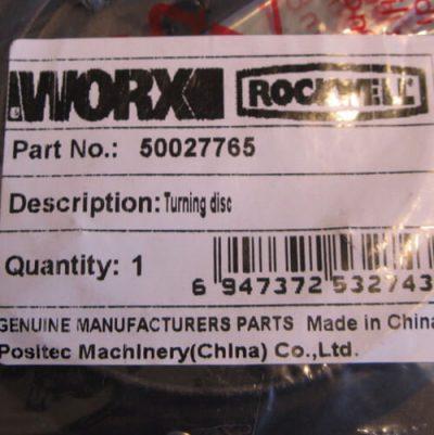 Aufkleber, label von Messerscheibe 50027765