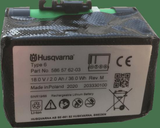 Akku Batterie Gardena R40 R70 589586101 Bild2