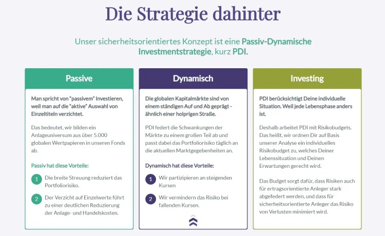 Evergreen PDI Anlagestrategie