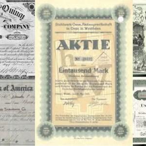 Aktien - Definition, wirtschaftliche Bedeutung, Wissenswertes