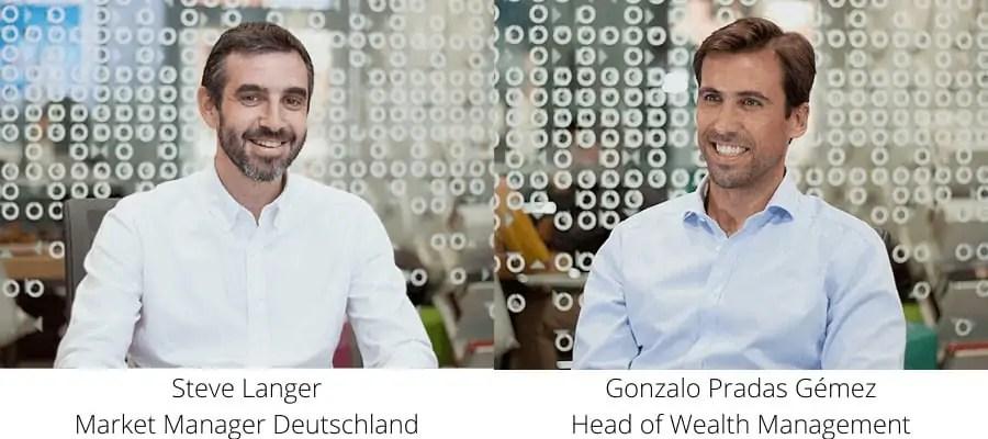 Openbank RoboAdvisor - das Management Team