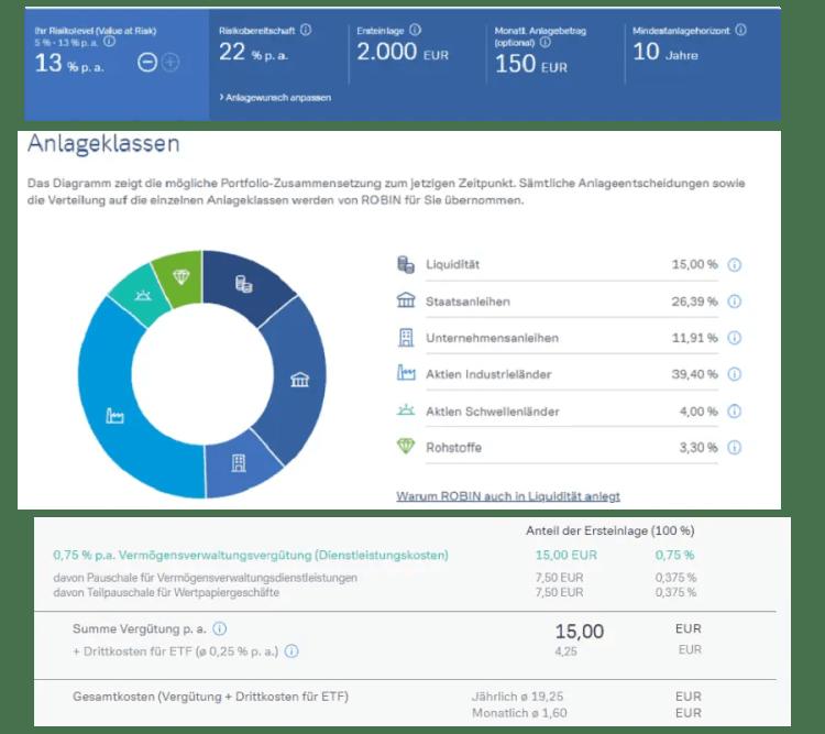 Robin - Deutsche Bank Anlagevorschlag