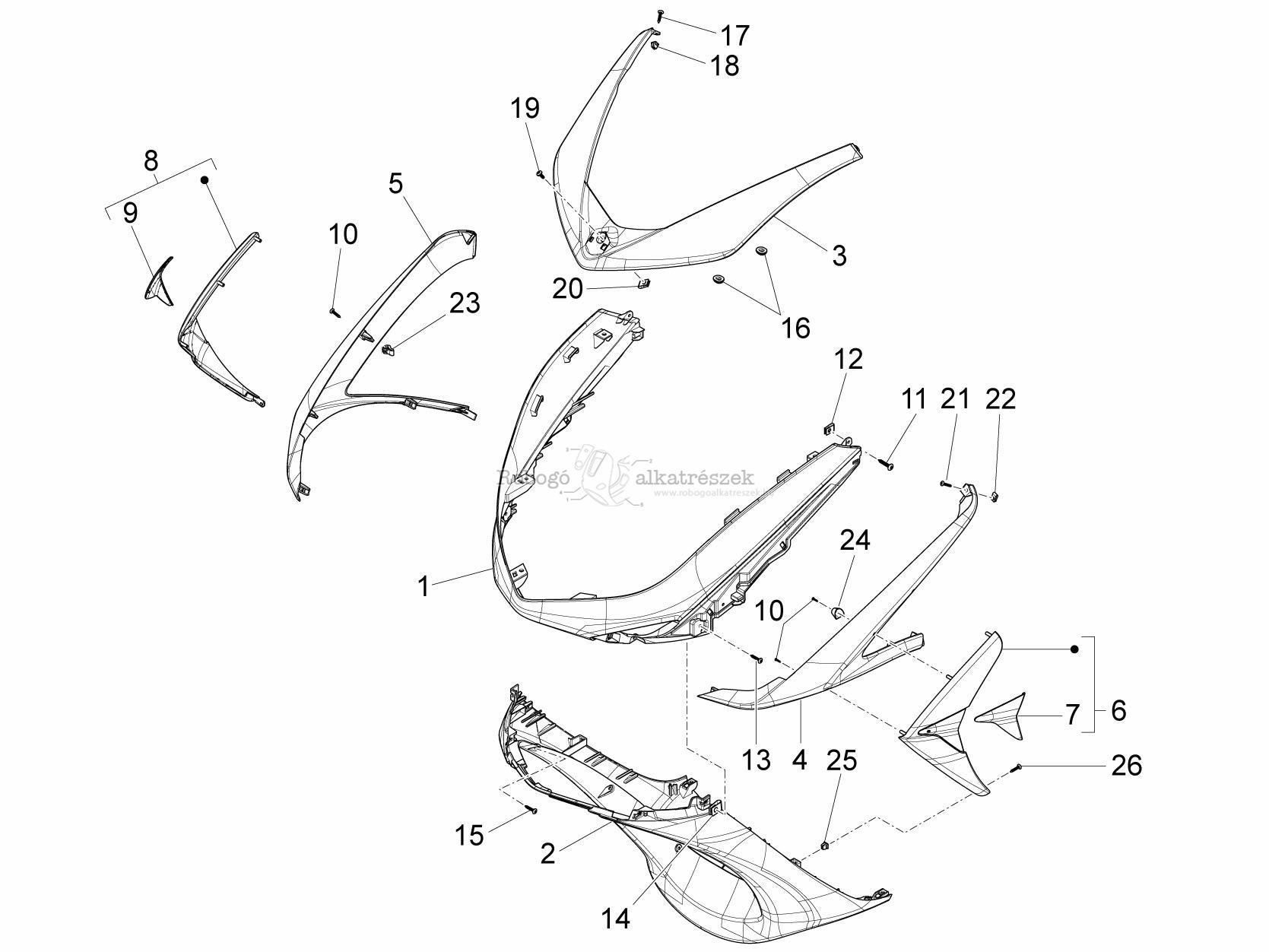 Piaggio X10 Wiring Diagram
