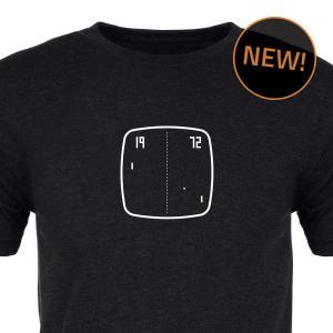 Tele-Pong Premium Tee Shirt :: Cropped :: ARCADE VISIONS Series :: Robots And Rocketships