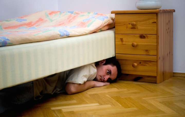 Image result for hiding in bedroom