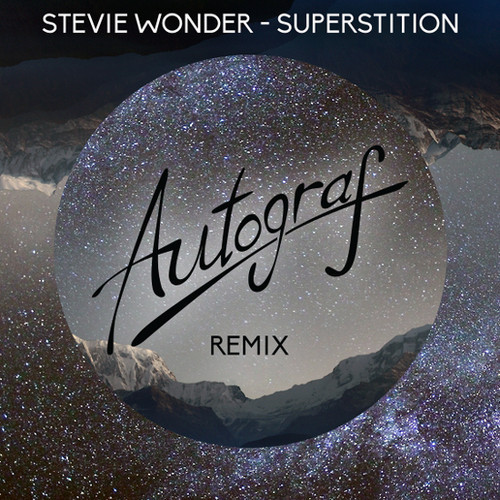 autograf stevie wonder