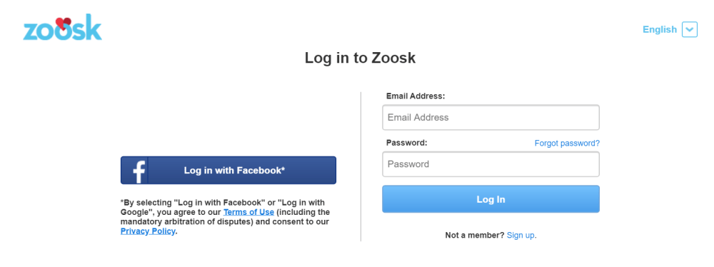Zoosk Login | roboticplanet.co