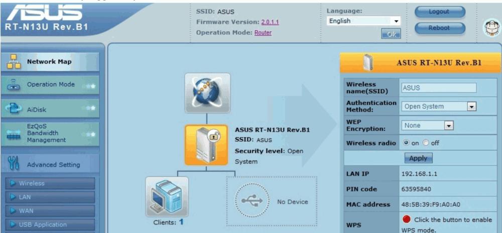 Asus Router Login   roboticplanet.co