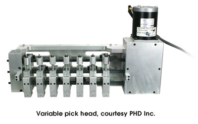 Variable pick head, courtesy PHD Inc.