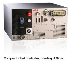 Compact robot controller, courtesy ABB Inc.