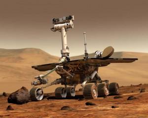 MarsroversSpirit 300x240 Los robots en Marte, de festejo…