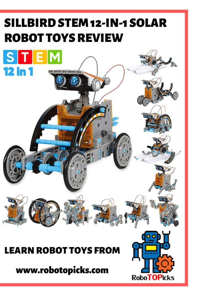 Sillbird STEM 12-in-1 Education Solar Robot Toy Review
