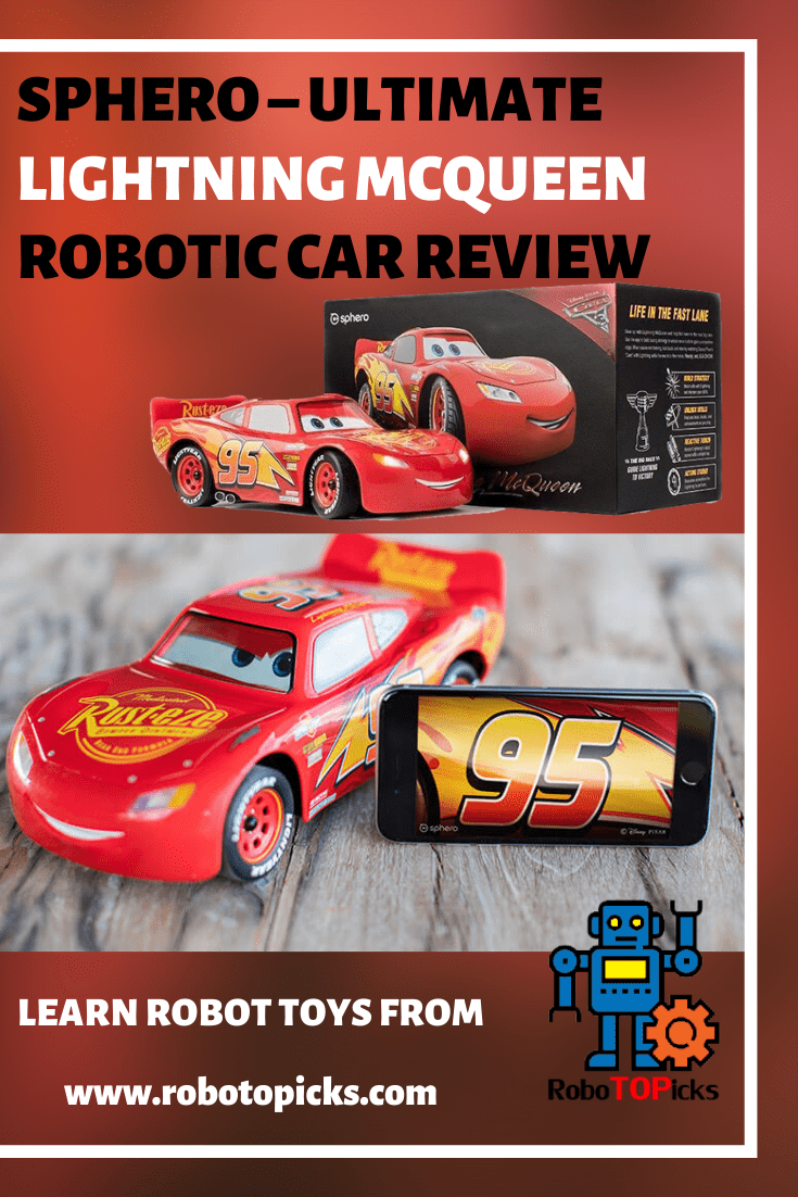 Sphero - Ultimate Lightning McQueen Review_Robotopicks