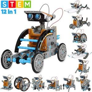 12-in-1 Education Solar Robot Toy_robotopicks