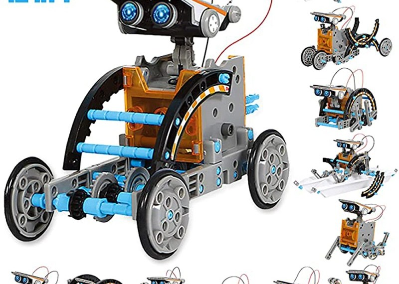 STEM 12-in-1 Educational Solar Robot Toy Review