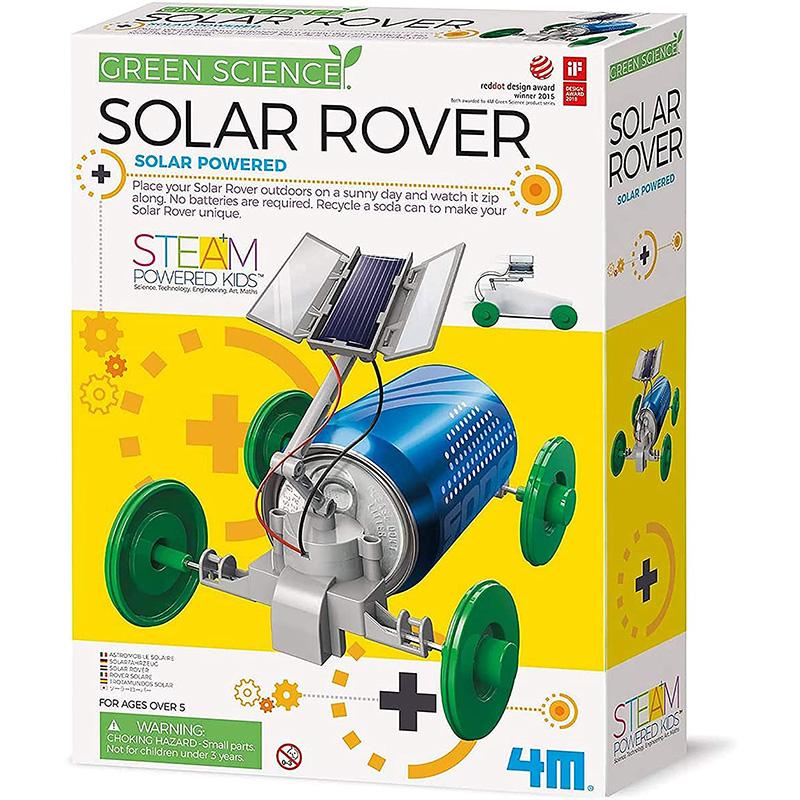 4M Green Science Solar Rover Kit