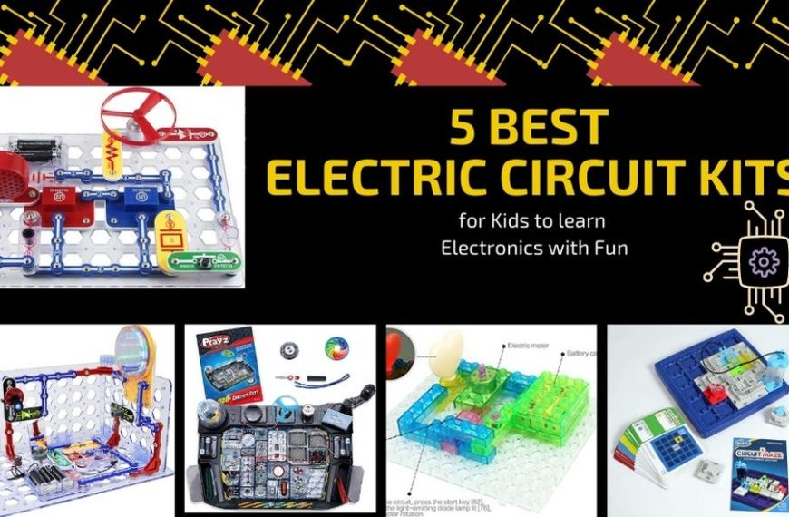 5 Best Electric Circuit Kits for Kids to learn Electronics with Fun (Reviewed 2021)