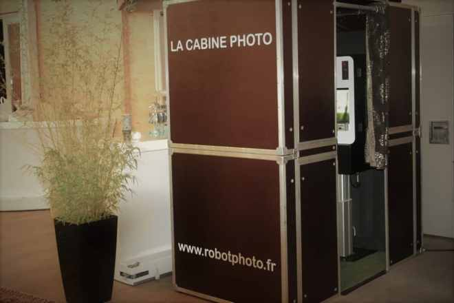 cabine borne photo Rennes