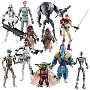Star Wars Clone Wars Action Figures Wave 7:
