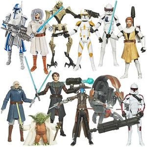Star Wars Clone Wars Action Figures Wave 13 Revision 1