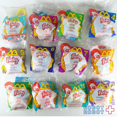 McDonald's Happy Meal 2000 FURBY Soft Toy ファービー ソフトトイ マクドナルド ハッピーミール 2000