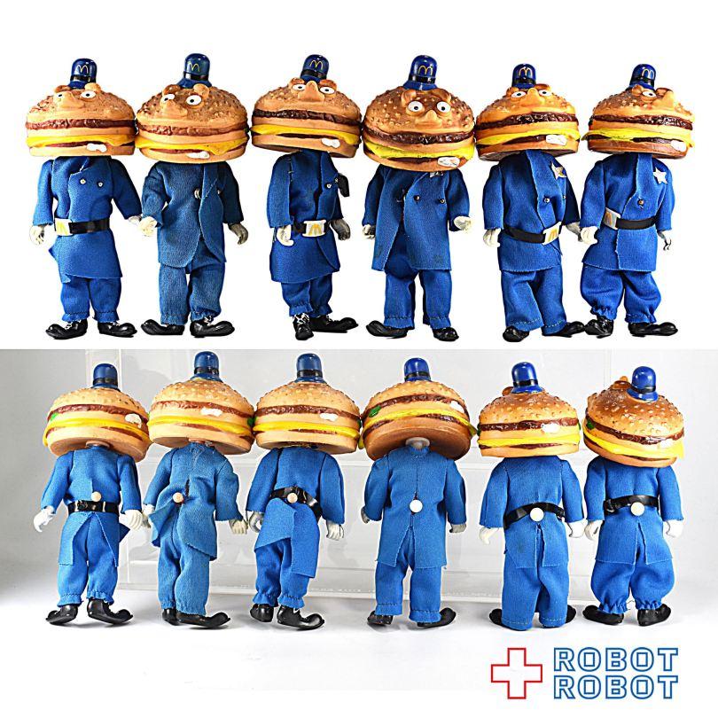 レムコ社 マクドナルドランド ビッグマックポリス フィギュア REMCO McDonald's McDonaldland BIG MAC POLICE Figure