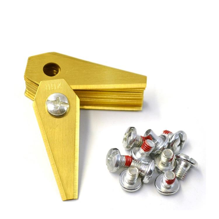 Titaniumbelagt,rustfrit,stål,knive,Bosch,Indego.