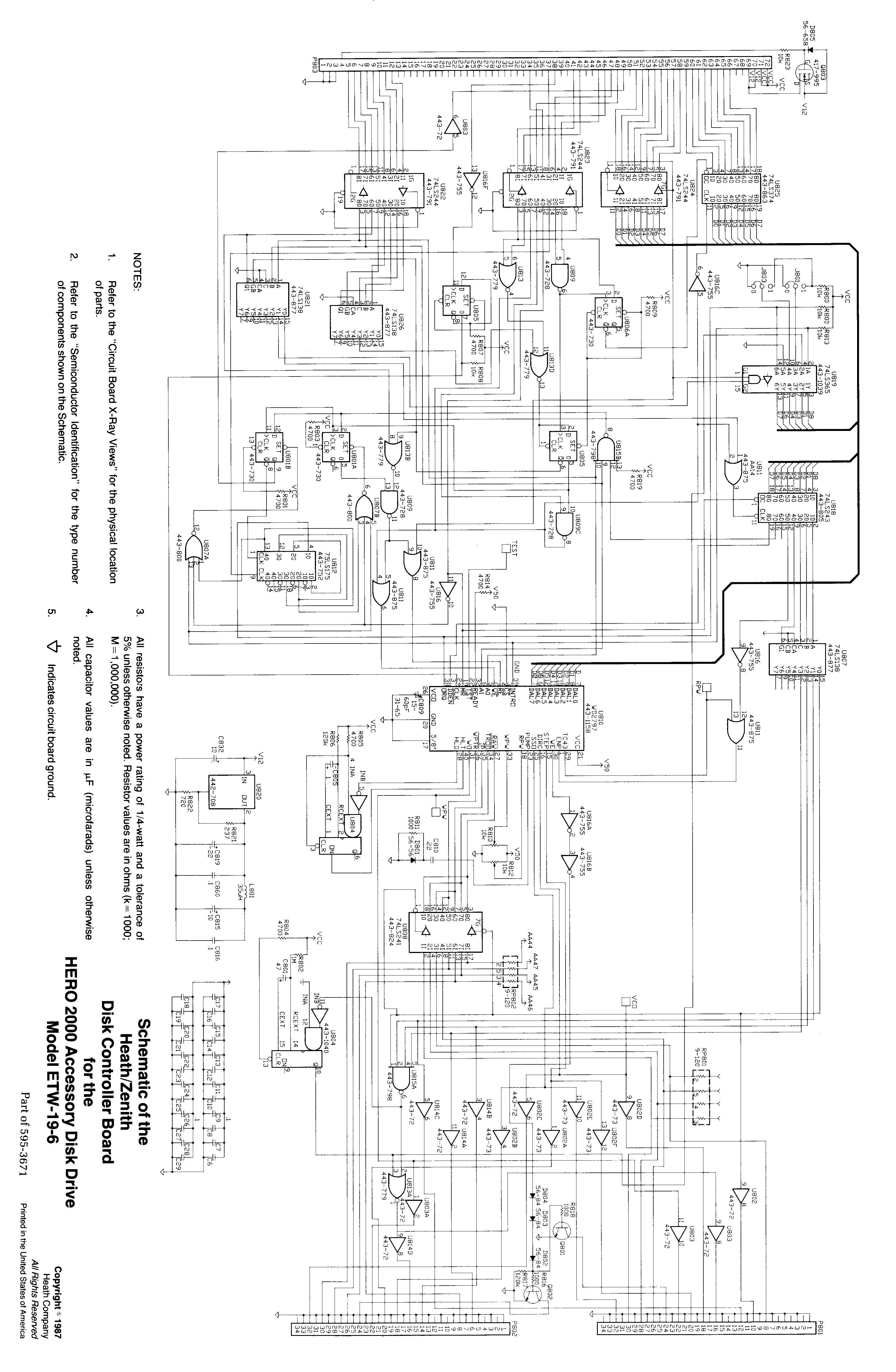 Index Of Robotworkshop Heathkit Manuals H2k