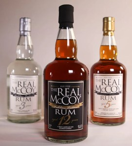 Real McCoy Rum - Davos Brands has recently picked up The Real McCoy authentic Barbados rum for expanded sales, distribution and marketing thoroughout the United States.