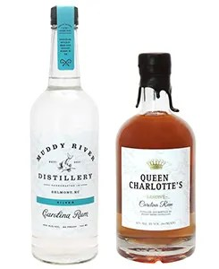 Muddy River Distillery - Muddy River Rum is produced at a craft distillery in Belmont North Carolina, as well as an aged spirit known as Queen Chalotte's Reserve.