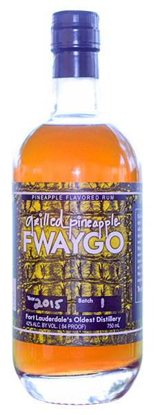Fwaygo Grilled Pineapple - Delicious notes of caramelized pineapple over a well-crafted rum base deliver delightful tropical tones in Fwaygo Grilled Pineapple Flavored Rum.
