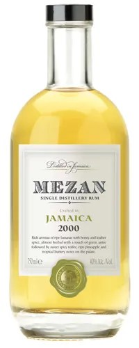 Mezan Jamaica 2000 - From the legendary Long Pond Distillery in Trelawny, Jamaica, this vintage 2000 rum from Mezan delivers authentic Jamaican funkiness and rich fruity notes.