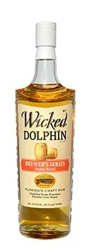 Wicked Dolphin beer barrel rum - A new collaboration between Cigar City Brewing and Cape Spirits has Wicked Dolphin aged rum finished in beer barrels for a unique flavor profile.