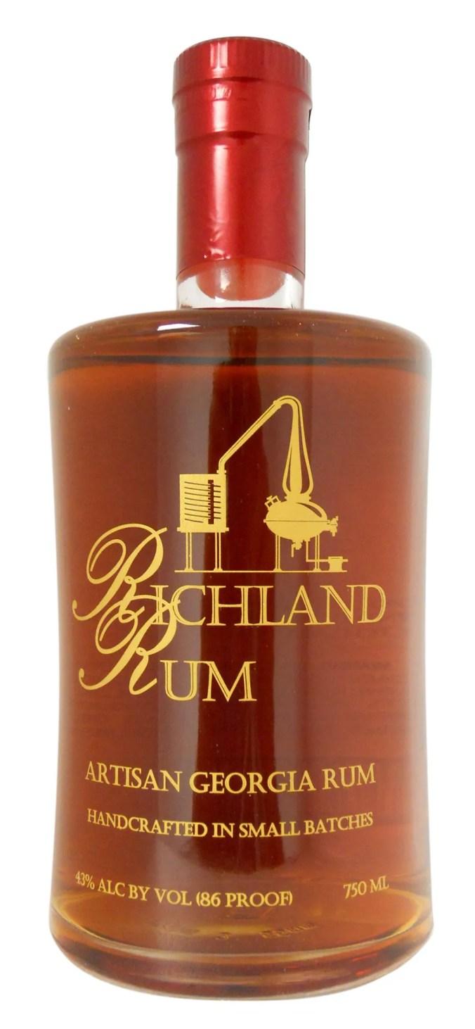 Richland Single Estate aged rum