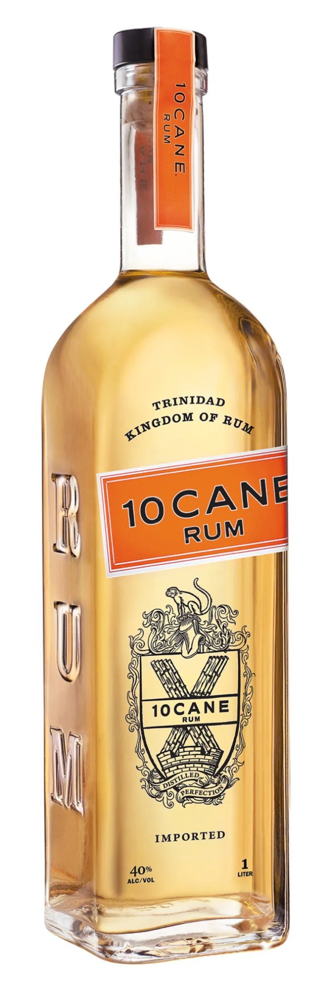 10 Cane white rum from Trinidad