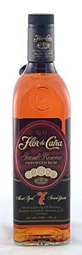 Types of Rum - Flor de Caña 7 year old dark rum