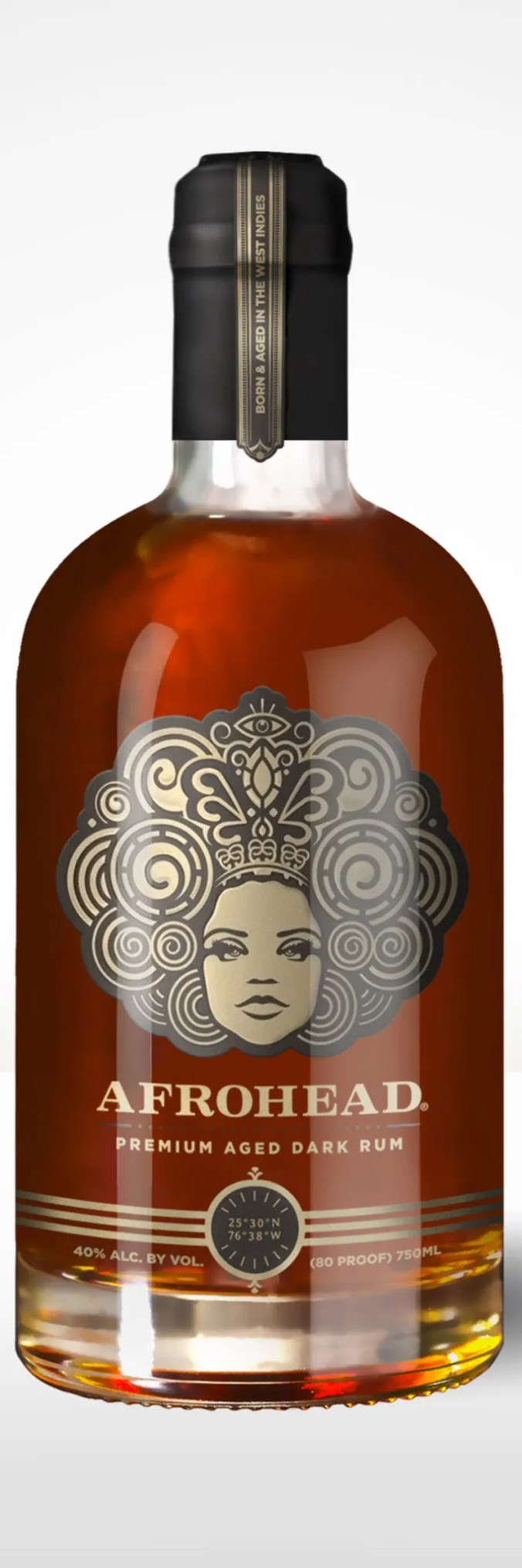 Afrohead Original aged rum from Trinidad