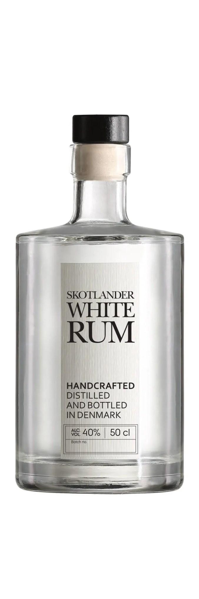 Skotlander white rum from Denmark
