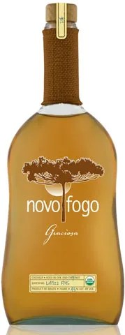 Novo Fogo Graciosa double aged cachaça from Brazil is double aged in two kinds of barrels