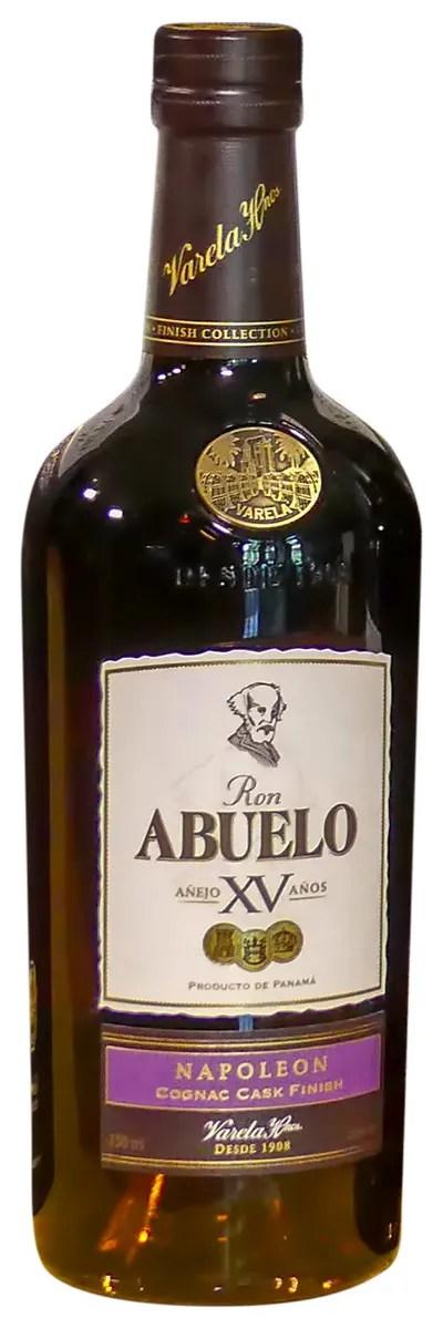 Abuelo Añejo XV Años Napoleon Cognac Cask Finish