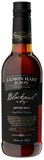 Lemon Hart & Son's Blackpool dark spiced rum