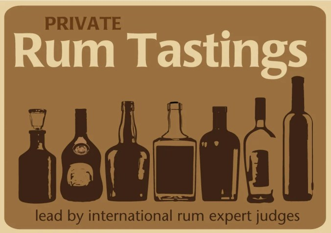 Private Rum Tasting experiences