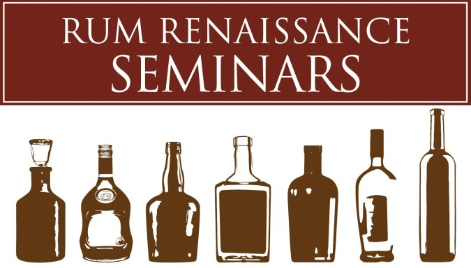Rum Renaissance Seminars and Master Classes at the Rum Renaissance Festival
