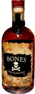Bones Aged Rum from St. Thomas in the U.S. Virgin Islands
